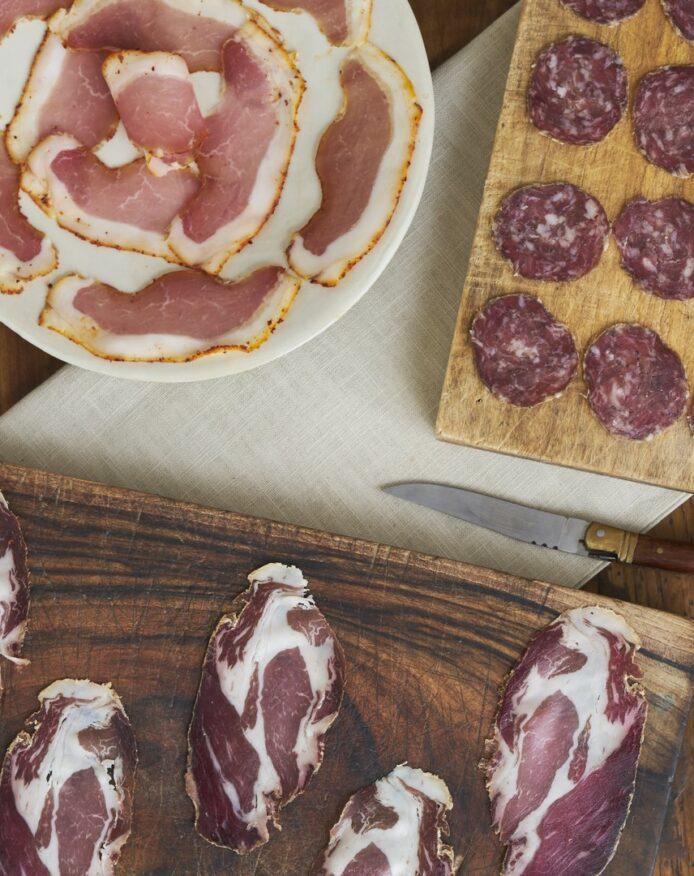 Planche apéritive porc noir de Bigorre AOP Herbae