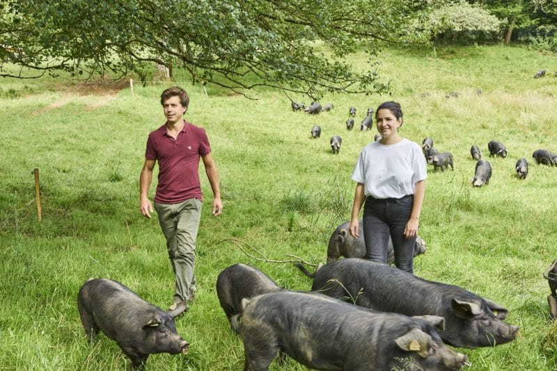 Domaine Herbae porc noir de Bigorre AOP Anouk et Nicolas