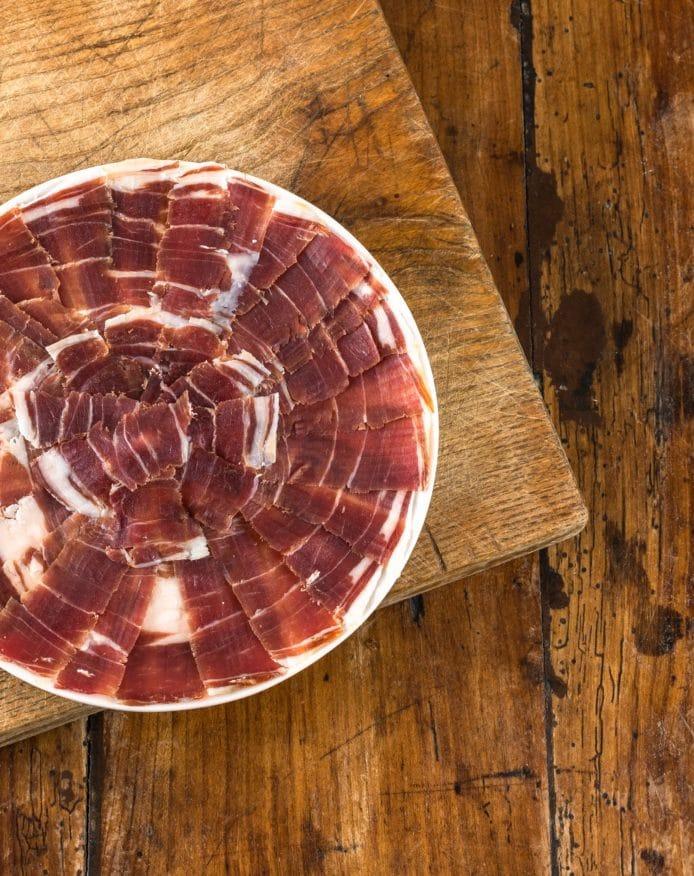 Jambon Noir de Bigorre AOP 24 mois coupé au couteau HERBAE