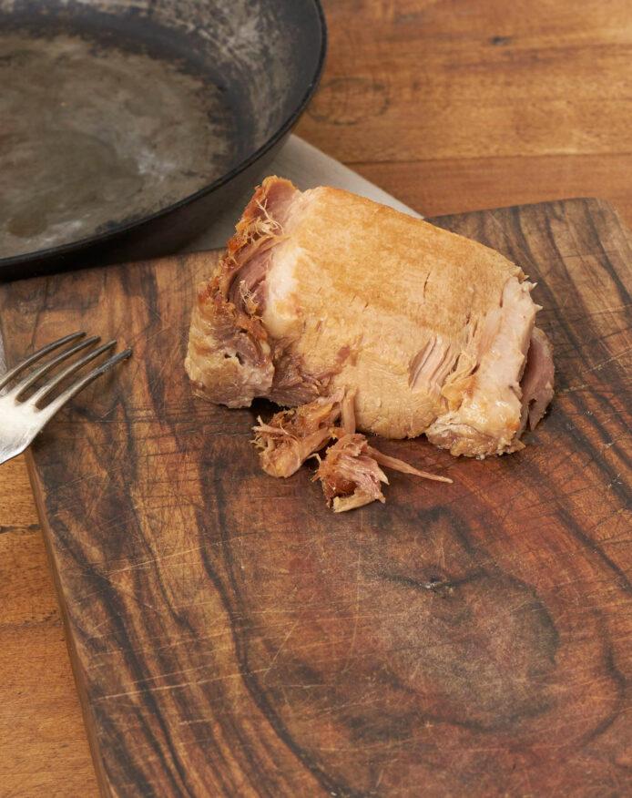 Confit porc noir de Bigorre AOP Echine et filet