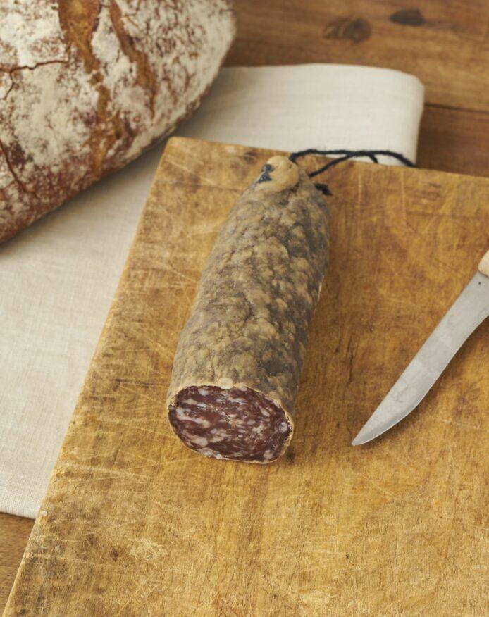 Saucisson porc noir de Bigorre AOP naturel 54 jours affinage