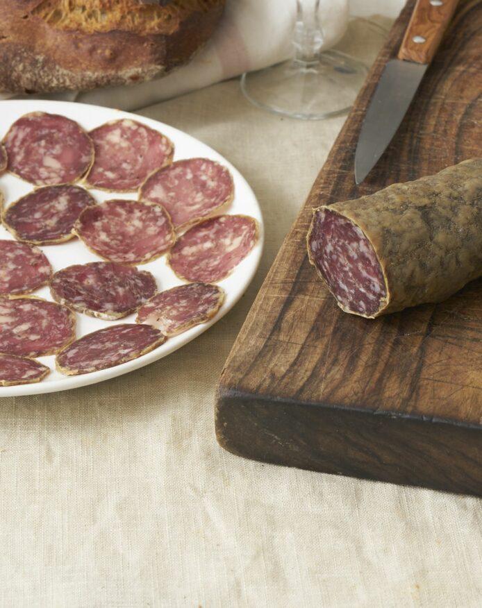 Saucisson porc noir de Bigorre AOP Herbae naturel