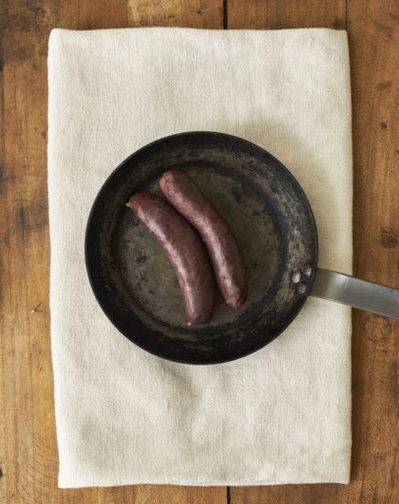 Boudins porc noir de Bigorre AOP Herbae Viande fraîche