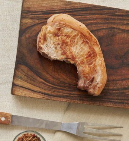Côte filet porc noir de Bigorre AOP Herbae