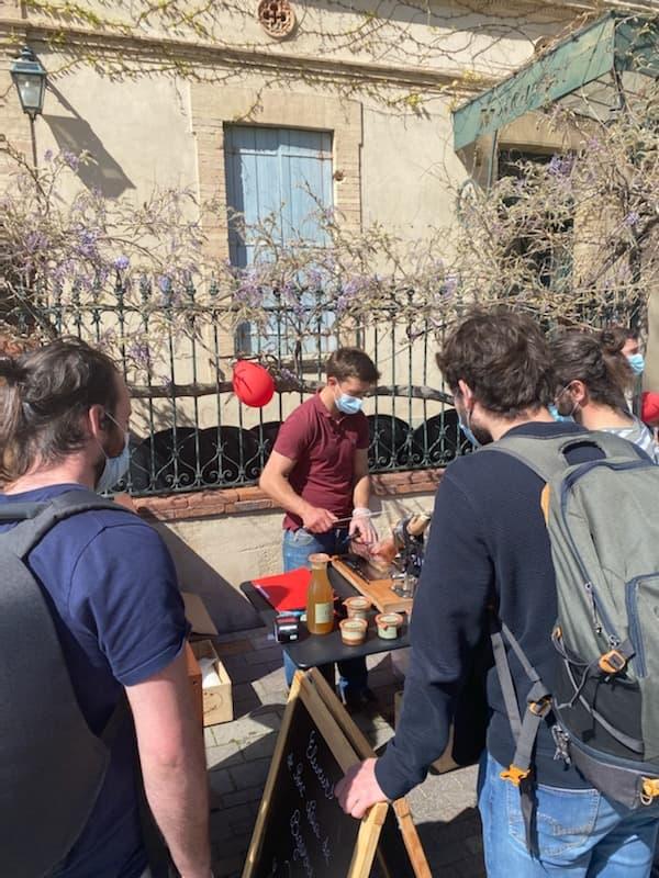 Evénement Herbae Tour des terroirs Toulouse Restaurant Le Sept